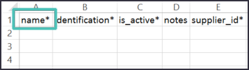 Name - Upload Parts - Quality Management Software