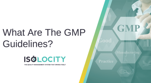 What Are The GMP Guidelines?