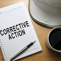 kpi dashboard open corrective actions