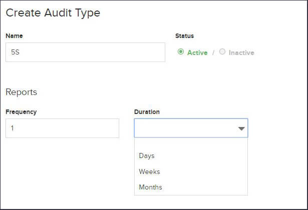 5S In The Workplace: Audit Frequency