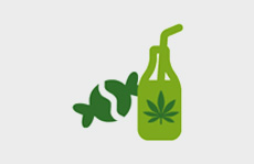 Cannabis Edibles & Beverages Icon